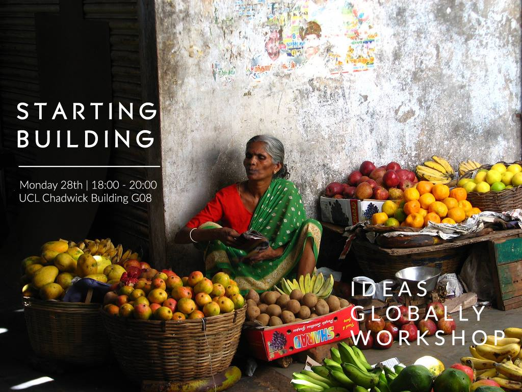 Workshop: Starting Building | 28th November 2016