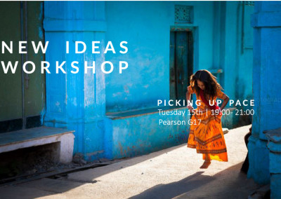 Workshop: Picking up pace | January 2016