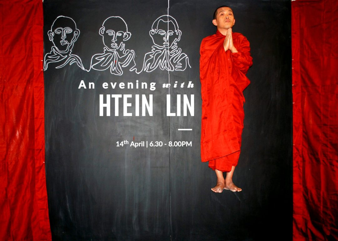 An evening with artist Htein Lin | 14th April 2016