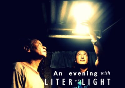 An evening with Illac Diaz, Global Director for Liter of Light | 14th January 2016