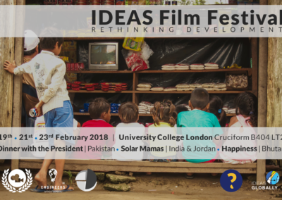 IDEAS Film Festival 2018 | 19th – 23rd February 2018