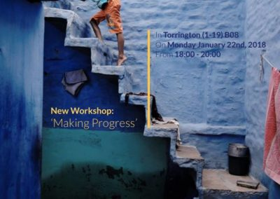 Workshop: Making Progress | 22nd January 2018