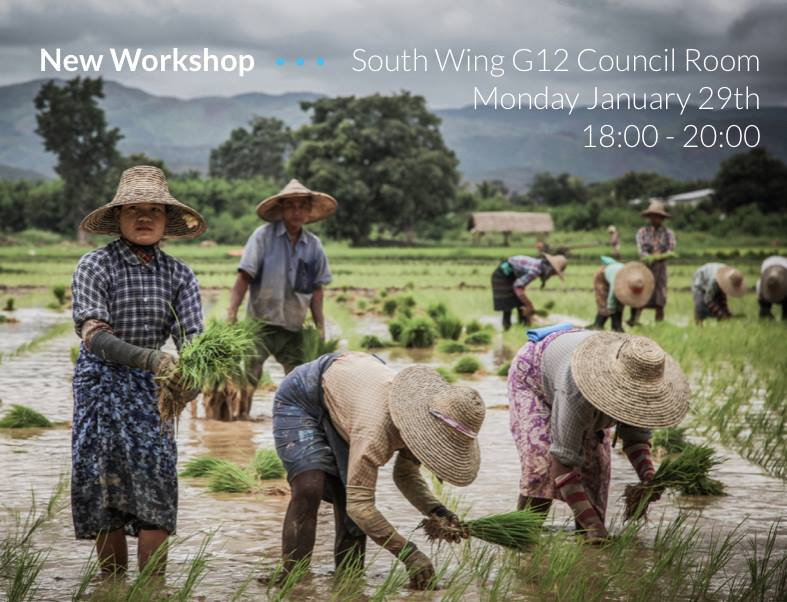 Workshop: Continuing project development | 29th January 2018