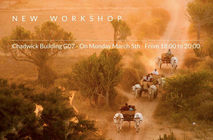 Workshop & Team Building Techniques by José Feio | 5th March 2018