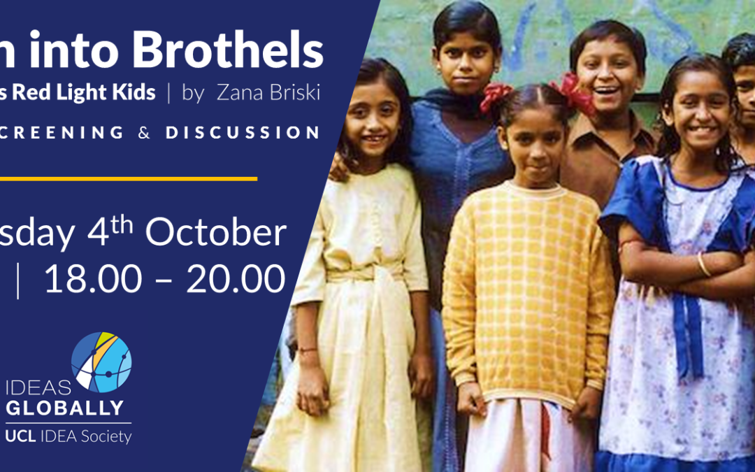 Film Screening & Discussion: Born into Brothels | 4th October 2018
