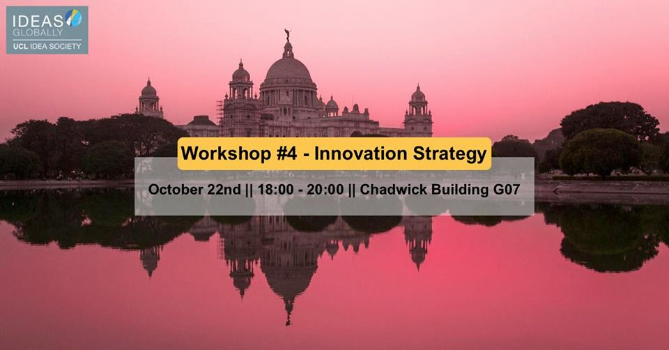 Workshop: Innovation Strategy | 22nd October 2018